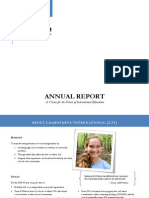 2009 Annual Report - LearnServe International