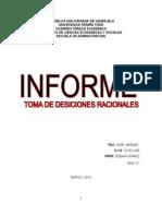 Informe (Toma de Decisiones Bajo Experiencia)