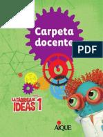 La Fabrica de Ideas 1 Carpeta Docente