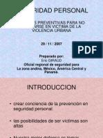 Seguridad Personal Peru