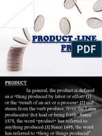 product line pricing