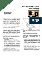 NTC ISO 9001 2008 en Pocas Palabras