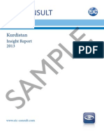 Kurdistan 2013 Exec Summary and Sample