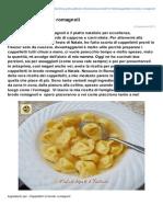 Blog.giallozafferano.it-cappelletti in Brodo Romagnoli