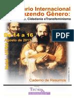 05 SEMINÁRIO INTERNACIONAL DESFAZENDO GÊNERO -CADERNO DE RESUMOS