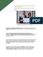 25-03-2014 Puebla Noticias - Moreno Valle propone la creación de un refugio para víctimas de trata; la federación ofrece recursos.pdf