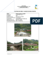 INFORME Avance de Obras Puentes 14032014
