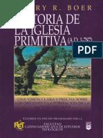 Harry R. Boer - Historia de La Iglesia Primitiva