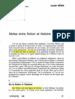 WENIN - Moïse entre fiction et histoire