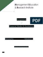Finance general topics