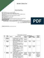 Proiect Didactic - Unitati Monetare Refacut