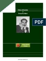 Marx Groucho - Citas