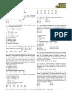 1999 Matematica Prova Colegio Naval