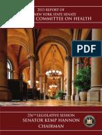 236th Legislative Health Committee Report