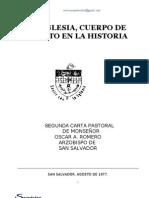 Mons. Oscar Arnulfo Romero CARTAS PASTORAL 3