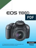 Manuale macchina fotografica EOS 1100D Italiano