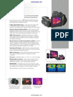 Flir T600 Infrared Camera Datasheet