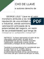DERECHO DE LLAVE