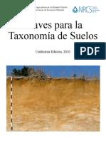 Claves para la Taxonomía de Suelos_Spanish_Keys_11th_ed_NRCS-USDA