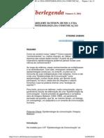 00 Samain, Etienne - Gregory Bateson _ Rumo a uma epistemologia da comunicação.pdf