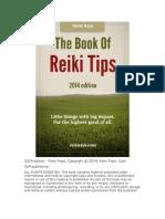 Reiki Tips - 2014 Edition