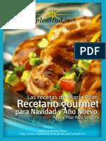 Mis recetas de Navidad - Maria Pilar Ruíz Vergara