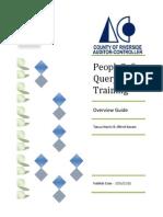 Query Training Document v1.0