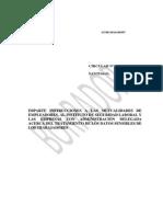 Datos Sensibles Ley 16.744