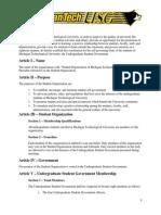 USG Constitution