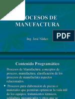 Porcesos de Manufactura 1 y 2 Tema