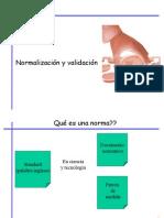 Normalización Validacion-M