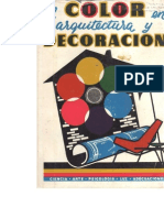 El color en arquitectura y decoración - Peter J. Hayten