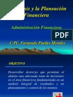 Segunda Unidad - Analisis y Planeacion Financiera - Parte 1