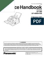 Panafax UF-4000, UF490