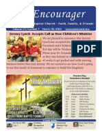 Encourager for March 30, 2014