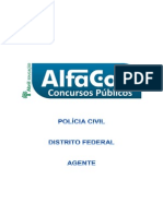 Alfacon Pcdf Agente Simulado Comentado