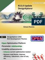 ANSYS 15.0 DesignXplorer Update
