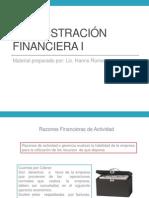 Adminsitración financiera 1 segunda unidad