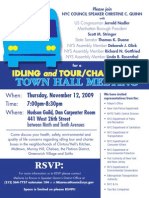 Idling and Tour/Charter Bus Town Hall
