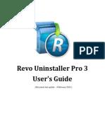 Revo Uninstaller Pro Help