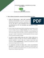 ARGUMENTARIO Factura Eléctrica