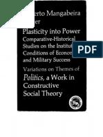 Plasticity into Power, Roberto Unger