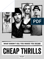 CHEAP THRILLS Press Kit & Marketing Guide