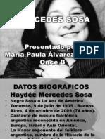 Mercedes Sosa Exposicion Paula Alvarez