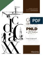 Guia de Livros Didáticos PNLD 2014 - História
