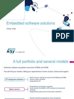 Stm32-Stm8 Embedded Software Solutions | Codec | Internet Protocol Suite