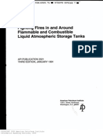 API 2021 Fighting Fires, Flammable Liquid Tanks
