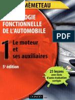 1-Technologie Fonctionnelle de l'Automobile-Le Moteur Et Ses Auxiliaires