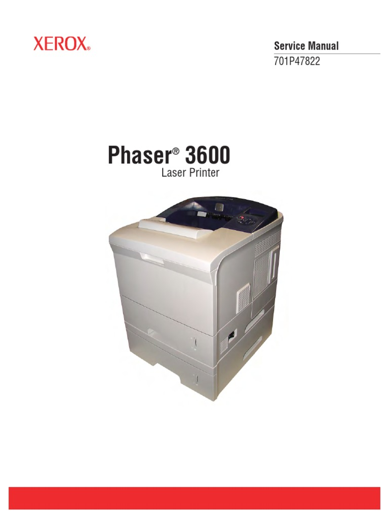 xerox phaser 3600 sm electromagnetic interference electrical rh scribd com Xerox 3600N Xerox Phaser 3600 Parts Diagram