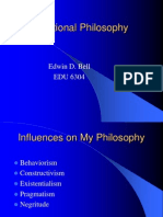 Educational Philosophy EDB 5-16-08